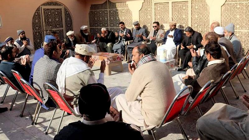 چکوال: عوامی تحریک شمالی پنجاب کے وفد کی فرخ شہزاد سے تعزیت