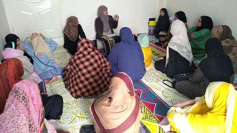 کراچی: منہاج ویمن لیگ کے زیراہتمام درس قرآن