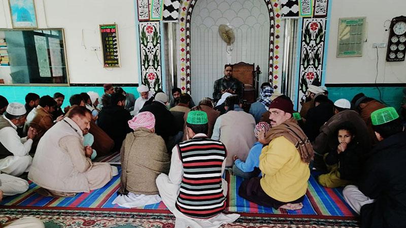 منہاج القرآن جہلم غربی کا ورکرز کنونشن