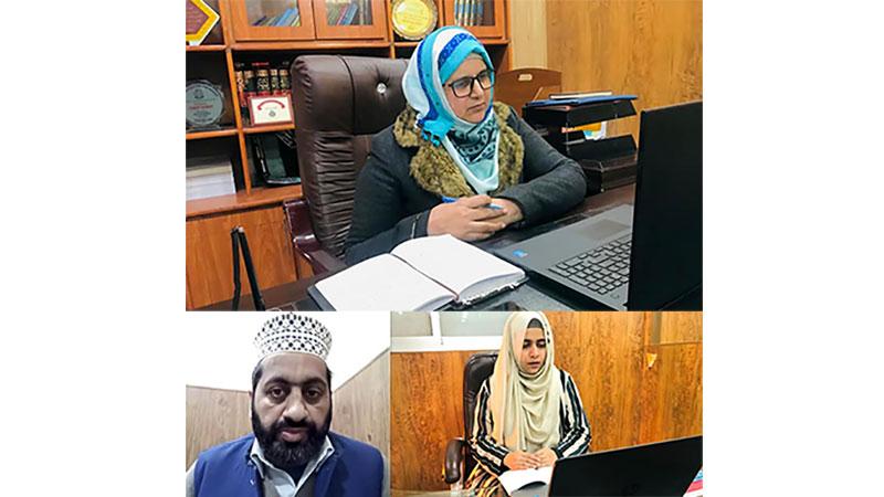 منہاج ویمن لیگ ضلع بھکر کی آنلائن ورکشاپ