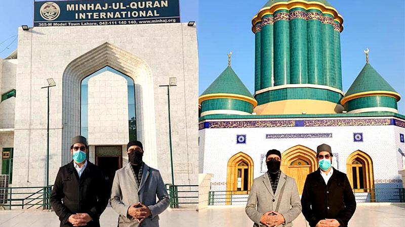 منہاج القرآن انٹرنیشنل امریکہ کے رہنماء عبداللہ قادری کا مرکزی سیکرٹریٹ کا دورہ