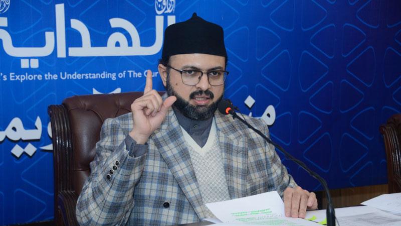 قرآن ذکر عظیم اور بہترین عبادت ہے: ڈاکٹر حسن محی الدین قادری