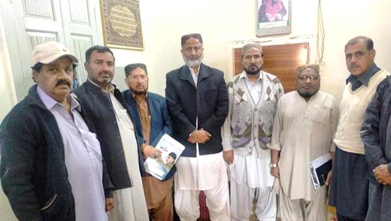 منہاج القرآن ٹنڈوآدم کا اجلاس
