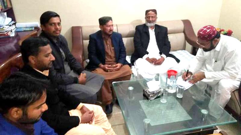 تحریک منہاج القرآن شہداد پور کا اجلاس