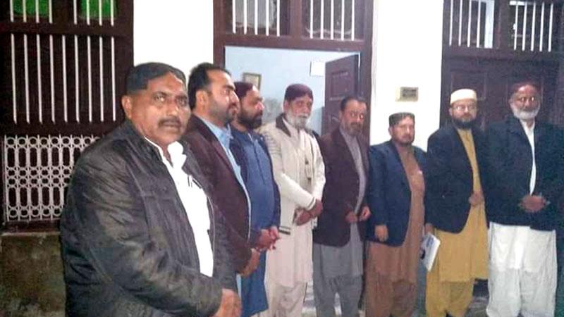 تحریک منہاج القرآن مورو کا اجلاس