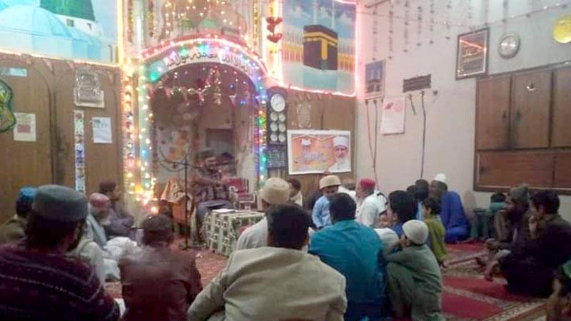 تحریک منہاج القرآن ڈھرکی سندھ کے زیراہتمام درس قرآن