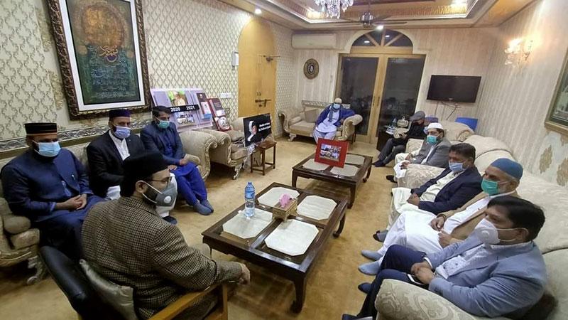 منہاج القرآن انٹرنیشنل کے مختلف ممالک کے وفد کی ڈاکٹر حسن محی الدین قادری سے ملاقات