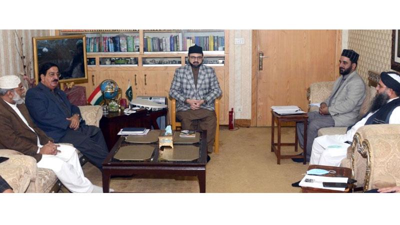 نظام المدارس پاکستان کا ڈاکٹر حسن محی الدین قادری کی سربراہی میں اجلاس