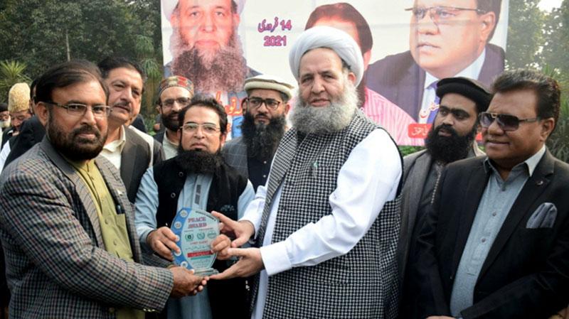 منہاج القرآن انٹرفیتھ ریلیشنز کی خدمات کے اعتراف میں ''نیشنل انٹرفیتھ  پیس ایوارڈ''