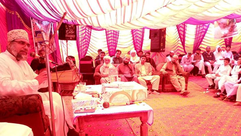تحریک منہاج القرآن تحصیل کلورکوٹ موندے والا میں قائد ڈے تقریب