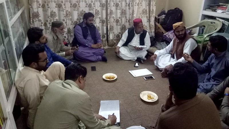 منہاج القرآن حیدرآباد کا مشاورتی اجلاس