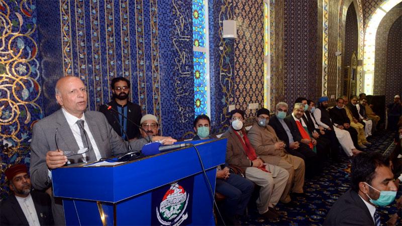 ڈاکٹر طاہرالقادری دنیا بھر میں نوجوانوں کی اسلامی تربیت کررہے ہیں: گورنر پنجاب