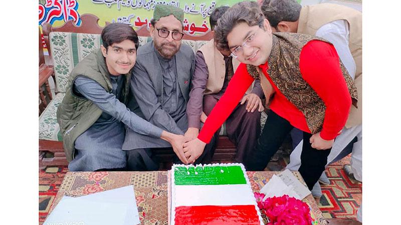 منہاج القرآن علی پور ضلع مظفرگڑھ بی کے زیراہتمام قائد ڈے تقریب