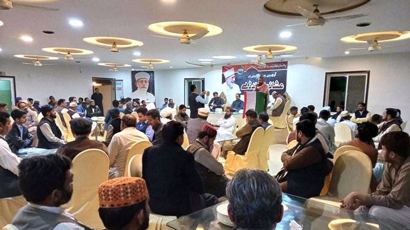 پاکستان عوامی تحریک ہارون آباد  کے زیراہتما قائد ڈے تقریب