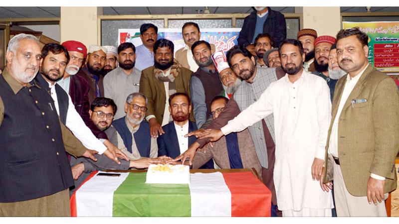 فیصل آباد: تحریک منہاج القرآن کے زیراہتمام قائد ڈے تقریب کا انعقاد