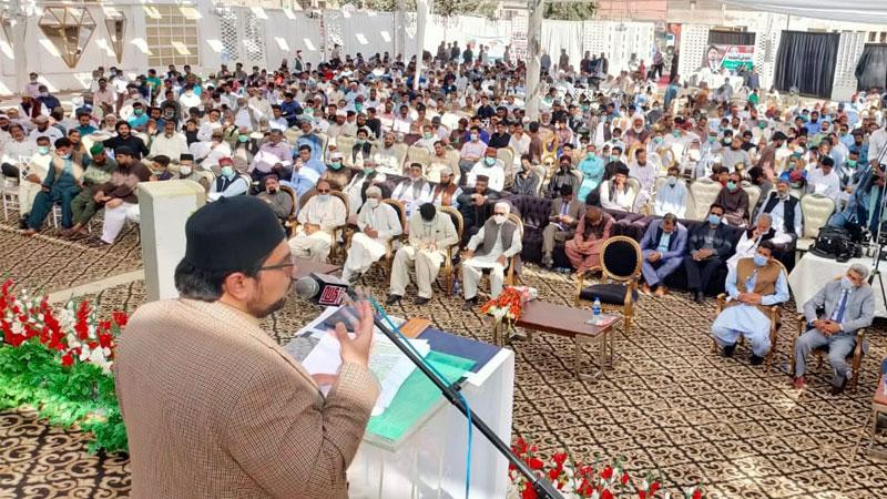 کراچی: منہاج یوتھ لیگ کی 'علم، تحقیق اور تجدید کا عہدِ بے مثال کانفرنس'، ڈاکٹر حسین محی الدین قادری کی شرکت