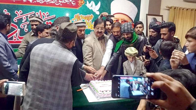 ایبٹ آباد پریس کلب میں شیخ الاسلام کی سالگرہ کی مناسبت سے تقریب کا انعقاد