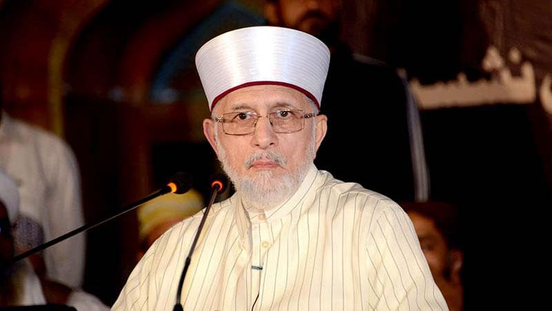 ڈاکٹر طاہرالقادری کا سید امجد علی شاہ کے والد کی وفات پر اظہار افسوس