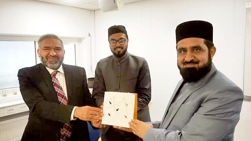 منہاج القرآن انٹرنیشنل ڈنمارک کی طرف سے مفتی ارشاد سعیدی کے اعزاز میں ظہرانے  کا اہتمام
