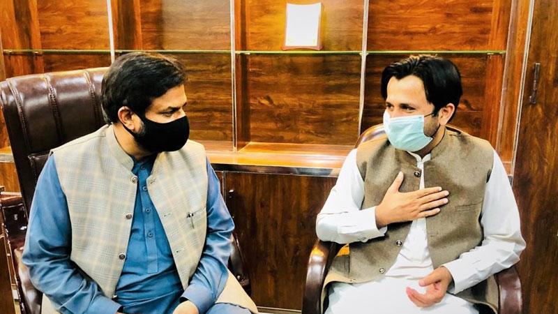 نائب صدر پاکستان عوامی تحریک کا مصطفوی سٹوڈنٹس موومنٹ کے  مرکزی آفس کا وزٹ