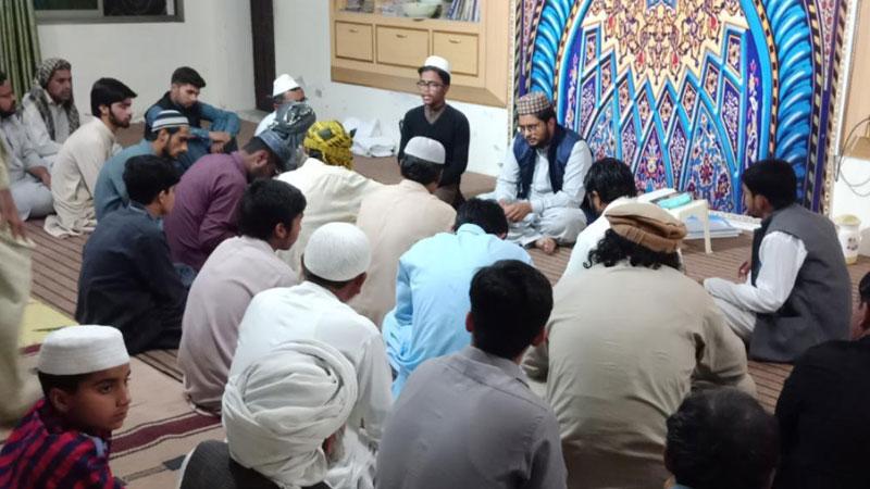 جامعہ اسلامیہ مدینۃ العلم چکوال میں ماہانہ حلقہ درود کا انعقاد