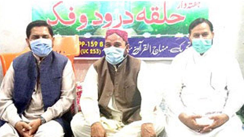 تحریک منہاج القرآن پی پی 165 کے زیراہتمام افطار ڈنر، عہدیداران کی شرکت