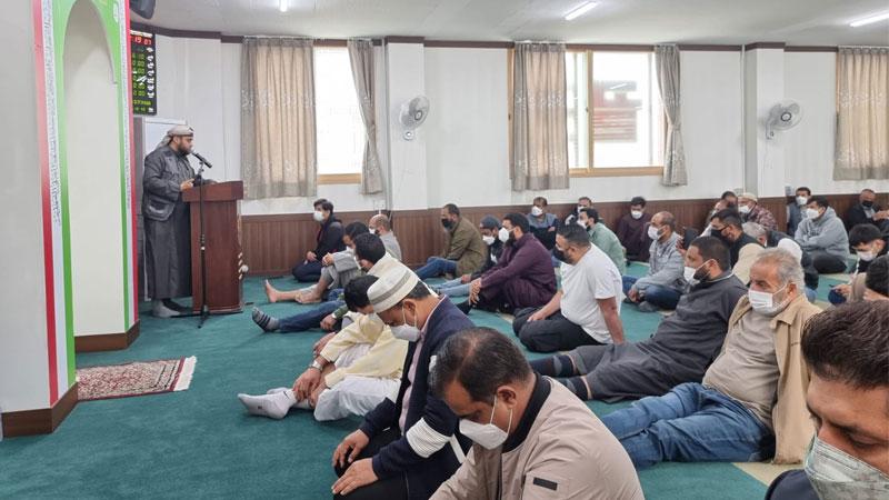 منہاج القرآن جنوبی کوریا کے زیراہتمام مسجد الحرمین میں 'یوم الفرقان' کا اجتماع