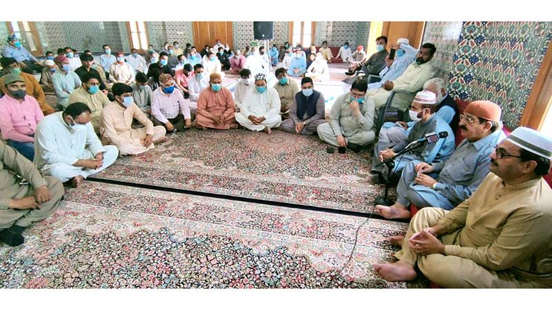 مرکزی سیکرٹریٹ میں مرحومین کے ایصال ثواب کے لیے قرآن خوانی و دعائیہ تقریب کا انعقاد