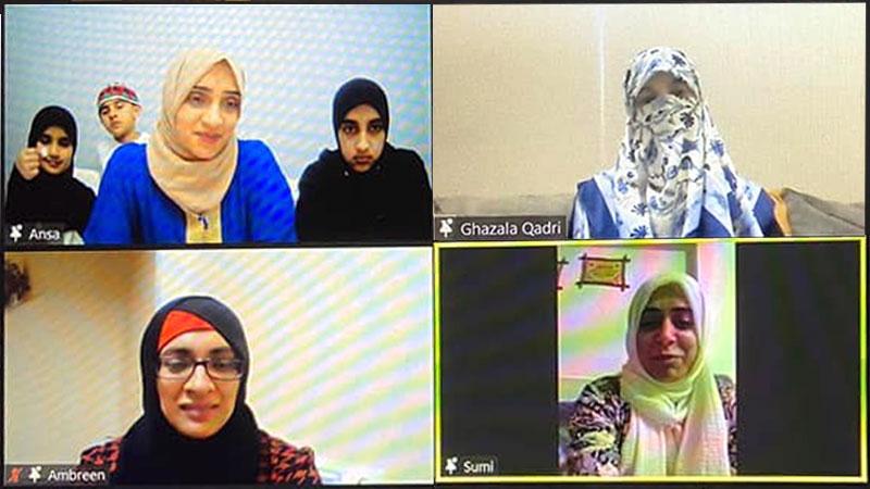 منہاج سسٹرز یوکے کی ڈاکٹر غزالہ حسن قادری کیساتھ نشست