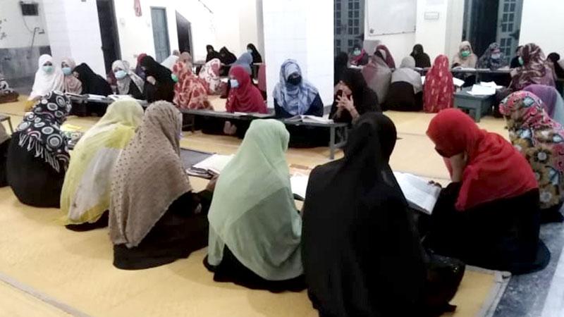گوجرانوالہ: منہاج ویمن لیگ کے زیراہتمام دورہ قرآن کا انعقاد