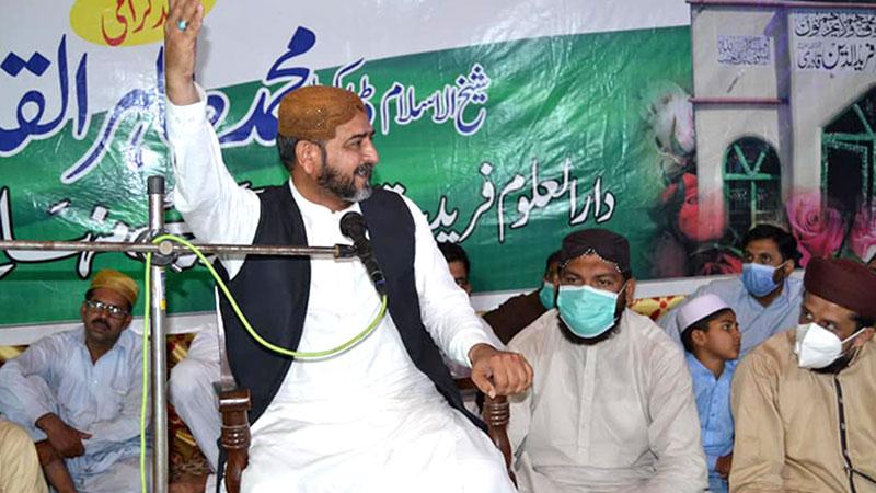 جھنگ میں فریدملت ڈاکٹر فریدالدین قادری کے سالانہ عرس مبارک کی تقریب