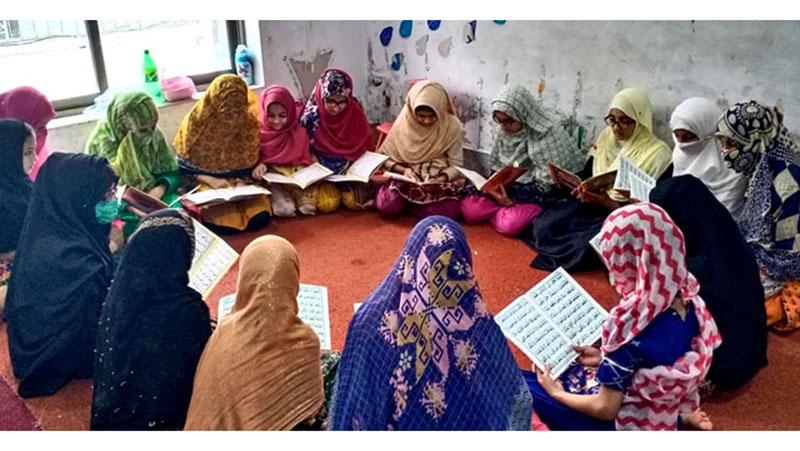 پیرمحل: منہاج القرآن ویمن لیگ کے زیراہتمام ڈاکٹر فریدالدین قادری کے عرس کی تقریب