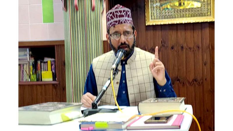 ایرزو اٹلی میں ڈاکٹر فریدالدین قادری رحمۃ اللہ علیہ کے عرس کی تقریب