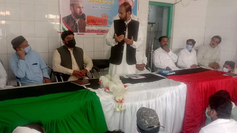 منہاج القرآن کلورکوٹ کا اجلاس