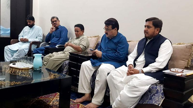 منہاج القرآن لاہور پی پی 145، 149، 154 اور پی پی 155 کے اجلاس