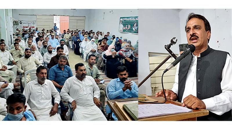 شیخوپورہ: پاکستان عوامی تحریک کوآرڈینیشن کونسل کا اجلاس