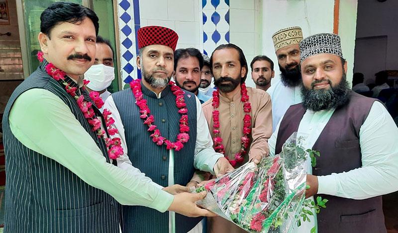 منہاج القرآن نارووال کی استقبالیہ تقریب
