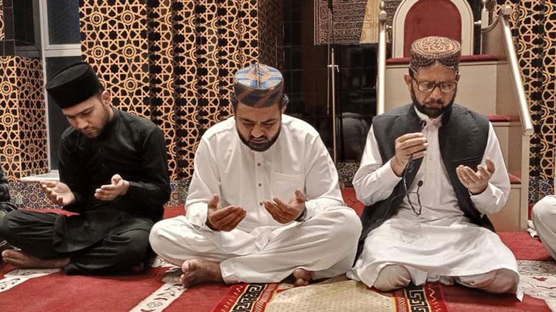 شہدائے ماڈل ٹاؤن کی 7ویں برسی پر جامع مسجد منہاج یونیورسٹی لاہور میں دعائیہ تقریب
