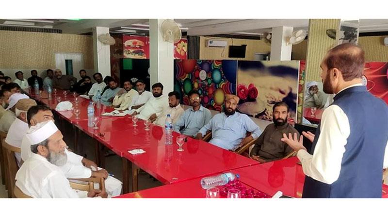 منہاج القرآن خوشاب کے فورمز کا مشترکہ اجلاس