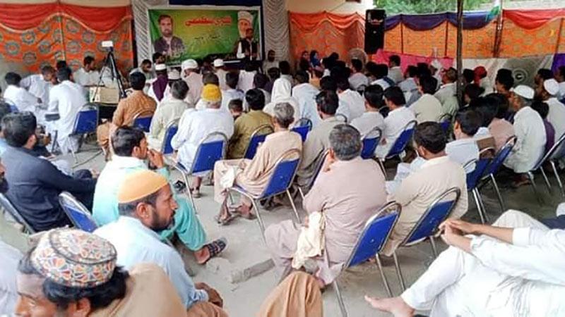 تحریک منہاج القرآن دریا خان کا اجلاس