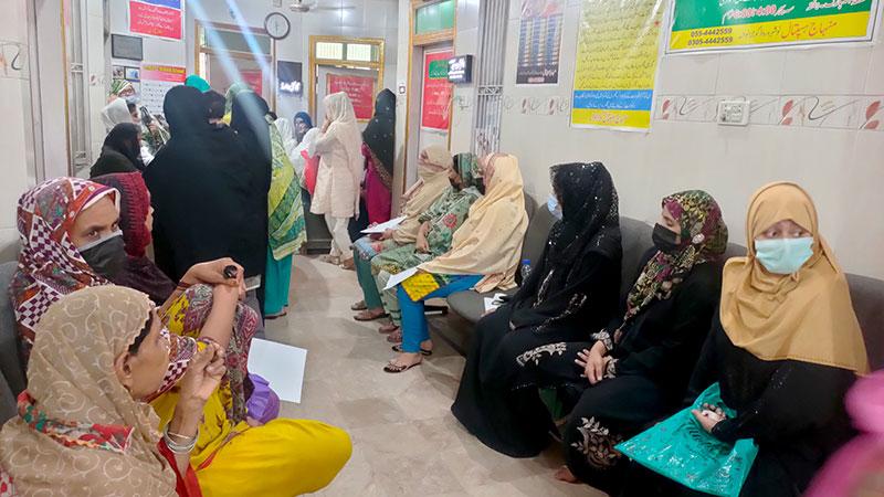 گوجرانوالہ: منہاج ہسپتال میں فری گائنی میڈیکل کیمپ کا انعقاد