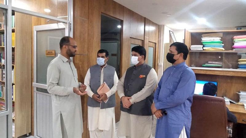 جمہوریہ مالڈووا کے پاکستان میں اعزازی سفیر کا دورہ فرید ملت ریسرچ انسٹی ٹیوٹ