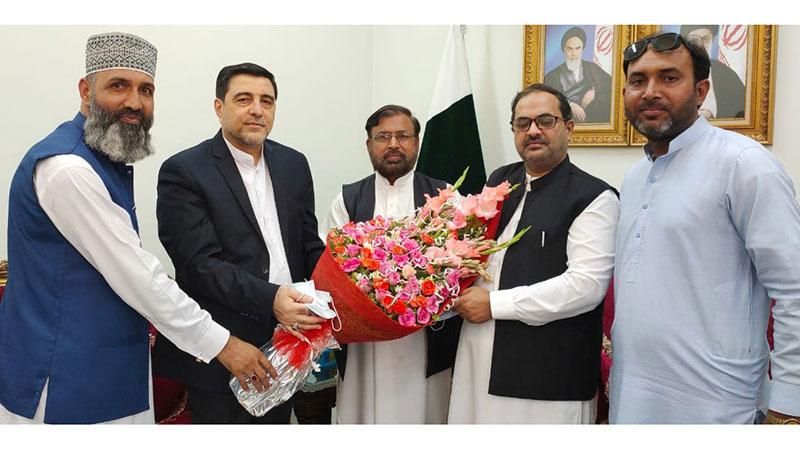 منہاج القرآن انٹرنیشنل کے وفد کی ایرانی قونصل جنرل سے ملاقات