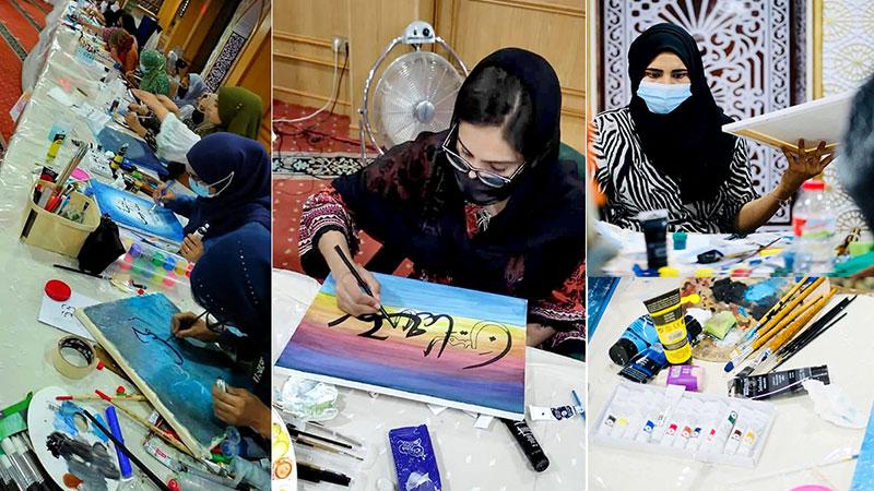 Spain: Minhaj Sisters arranges Islamic Calligraphy competition