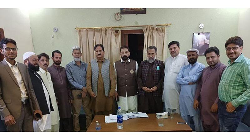 جموں کشمیر عوامی تحریک کے نامزد امیدوار طاہر کھوکھر کی کراچی میں انتخابی مہم، مقیم کشمیریوں سے ملاقات