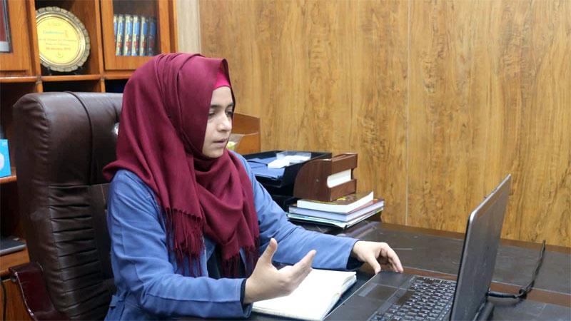 Discipline key to attaining organizational goals: Sidra Karamat