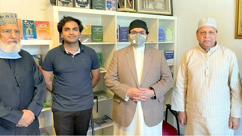 ڈاکٹر حسین محی الدین قادری کی ہالینڈ میں پاکستانی کمیونٹی سے ملاقات
