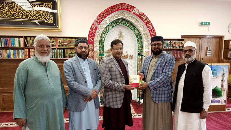 Consular General of Pakistan Sayyid Zahid Raza visit MQI Glasgow centre