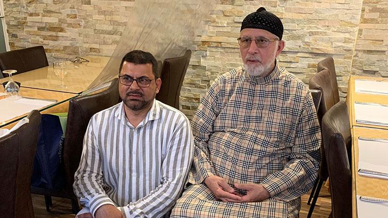 چارٹرڈ طیارے کے ذریعے 200 پاکستانیوں کو فرانس سے وطن واپس بھیجنے پر منہاج القرآن کے رہنما نعیم چودھری کو مبارکباد