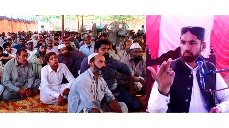 منہاج القرآن بھکر کے زیراہتمام پیغام شہادت حسین علیہ السلام کانفرنس
